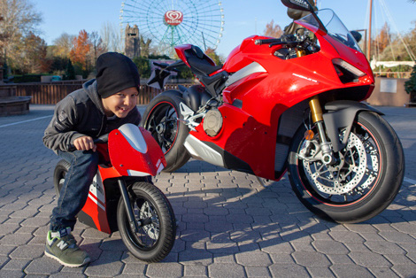 Ducati World Mirabilandia monster